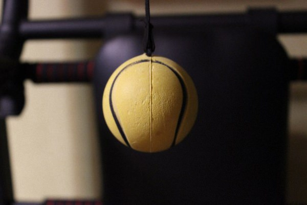 Тренажёр fight ball развивает скорость