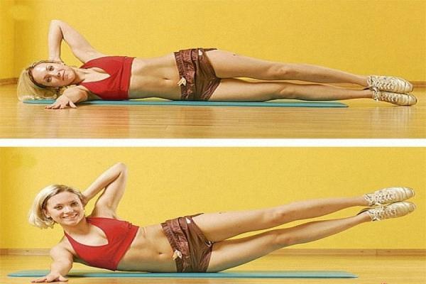 Упражнения на мышцы пресса в домашних условиях видео