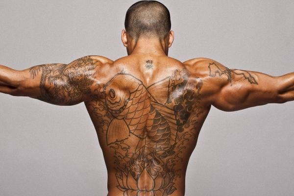 Широкая спина