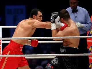 Удар в боксе Кличко